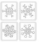 Snowflake sizzlits