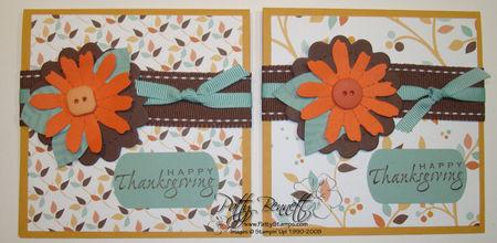 Die flower cards