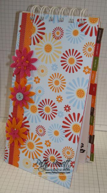 Calendar rosy cover